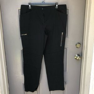 DKNYC Skinny Pants with Zippers